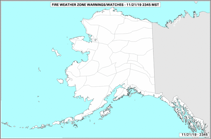 Alaska Fire Advisories