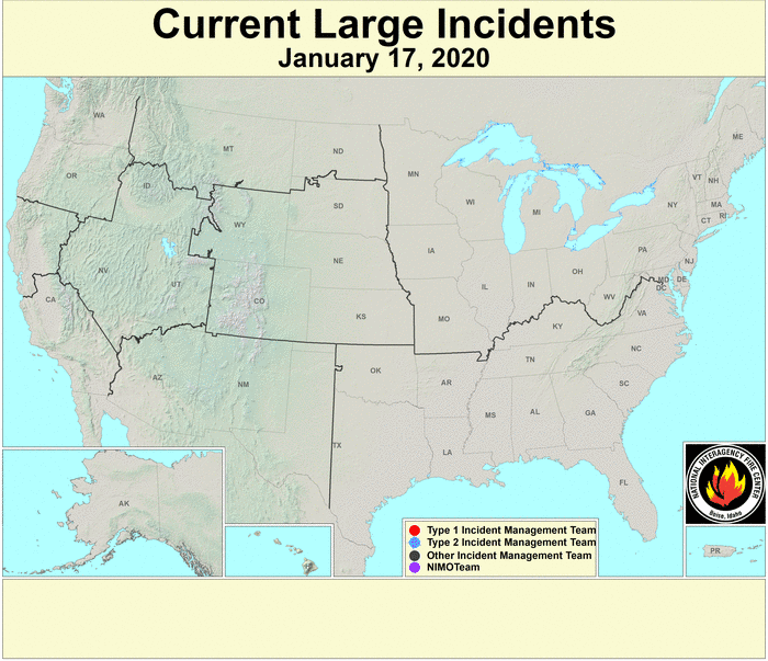 Current U.S. Wildfire Detections
